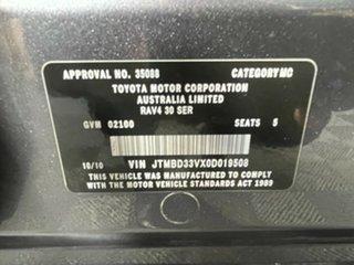 2010 Toyota RAV4 ACA33R MY09 Altitude Grey 4 Speed Automatic Wagon
