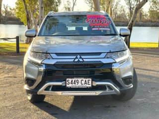 2019 Mitsubishi Outlander ZL MY19 LS 7 Seat (2WD) Sterling Silver Continuous Variable Wagon.
