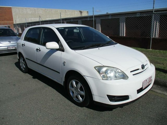 Used Toyota Corolla ZZE122R 5Y Ascent Kippa-Ring, 2006 Toyota Corolla ZZE122R 5Y Ascent White 4 Speed Automatic Hatchback