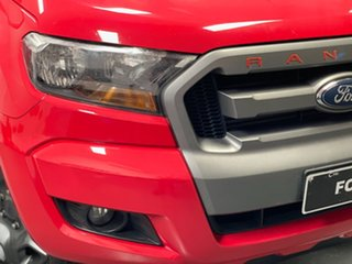 2015 Ford Ranger PX MkII XLS Double Cab Red 6 Speed Sports Automatic Utility.