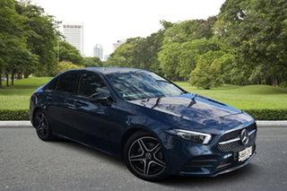 2019 Mercedes-Benz A-Class V177 800MY A180 DCT Blue 7 Speed Sports Automatic Dual Clutch Sedan.