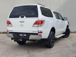 2014 Mazda BT-50 UP0YF1 GT White 6 Speed Sports Automatic Utility