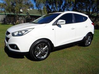 2013 Hyundai ix35 LM2 SE White 6 Speed Sports Automatic Wagon.