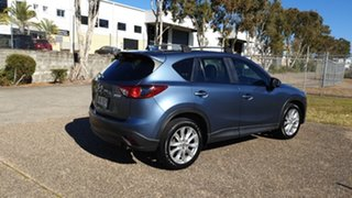 2013 Mazda CX-5 MY13 Akera (4x4) Blue 6 Speed Automatic Wagon.