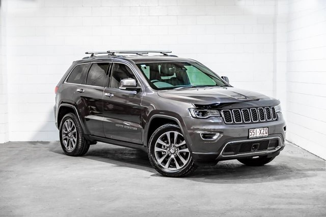 Used Jeep Grand Cherokee WK MY18 Limited Southport, 2018 Jeep Grand Cherokee WK MY18 Limited Grey 8 Speed Sports Automatic Wagon