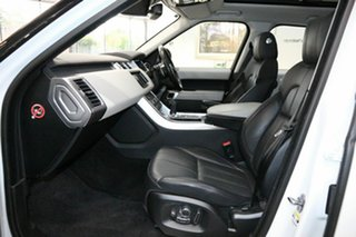 2016 Land Rover Range Rover Sport L494 16.5MY HSE White 8 Speed Sports Automatic Wagon