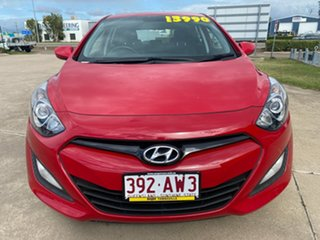 2012 Hyundai i30 GD Active Red/060213 6 Speed Manual Hatchback