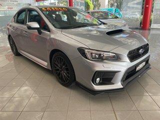 2018 Subaru WRX V1 MY18 Premium Lineartronic AWD Silver, Chrome 8 Speed Constant Variable Sedan.
