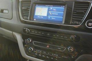 2015 Kia Carnival YP MY15 SLi Silver 6 Speed Sports Automatic Wagon