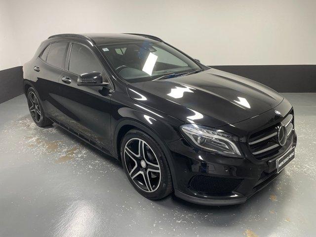 Used Mercedes-Benz GLA-Class X156 806MY GLA250 DCT 4MATIC Cardiff, 2015 Mercedes-Benz GLA-Class X156 806MY GLA250 DCT 4MATIC Black 7 Speed Sports Automatic Dual Clutch