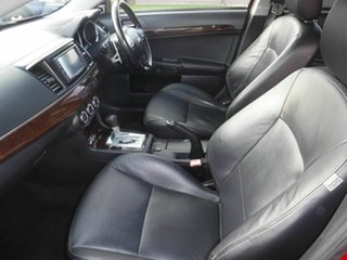 2010 Mitsubishi Lancer CJ Aspire Red 6 Speed Automatic Sedan