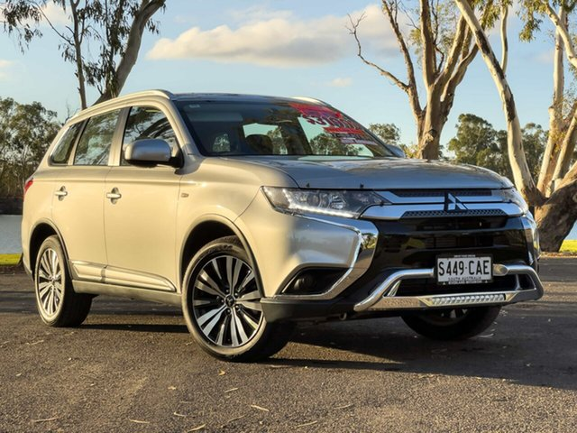 Used Mitsubishi Outlander ZL MY19 LS 7 Seat (2WD) Loxton, 2019 Mitsubishi Outlander ZL MY19 LS 7 Seat (2WD) Sterling Silver Continuous Variable Wagon