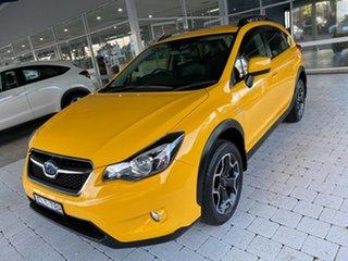 2015 Subaru XV 2.0i - Special Edition Yellow Constant Variable Wagon.