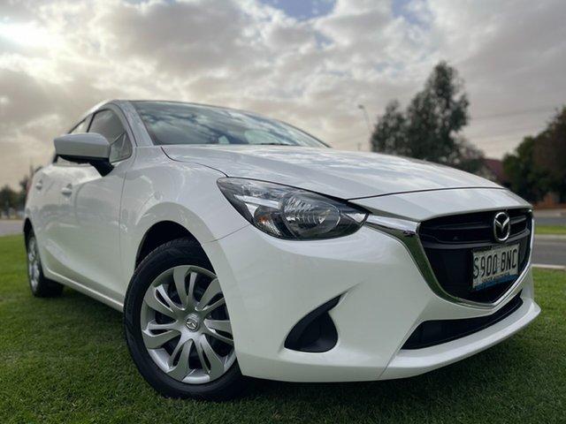 Used Mazda 2 DL2SA6 Neo SKYACTIV-MT Hindmarsh, 2016 Mazda 2 DL2SA6 Neo SKYACTIV-MT White 6 Speed Manual Sedan