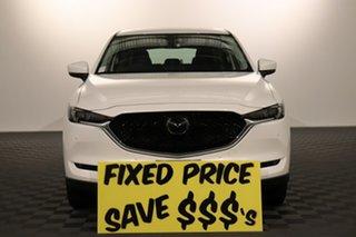 2019 Mazda CX-5 KF4WLA GT SKYACTIV-Drive i-ACTIV AWD White 6 speed Automatic Wagon.