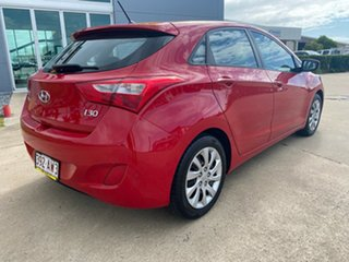 2012 Hyundai i30 GD Active Red/060213 6 Speed Manual Hatchback.