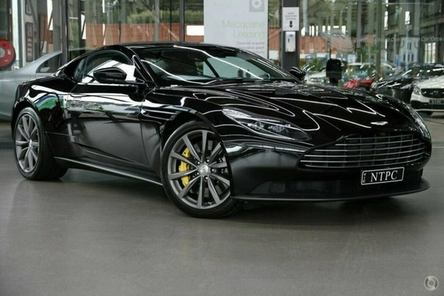 Used Aston Martin DB11 MY17 North Melbourne, 2017 Aston Martin DB11 MY17 Black 8 Speed Sports Automatic Coupe