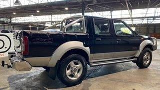 2003 Nissan Navara D22 MY2002 ST-R Black 5 Speed Manual Utility