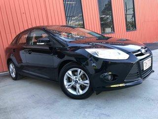 2014 Ford Focus LW MkII MY14 Trend PwrShift Black 6 Speed Sports Automatic Dual Clutch Sedan.