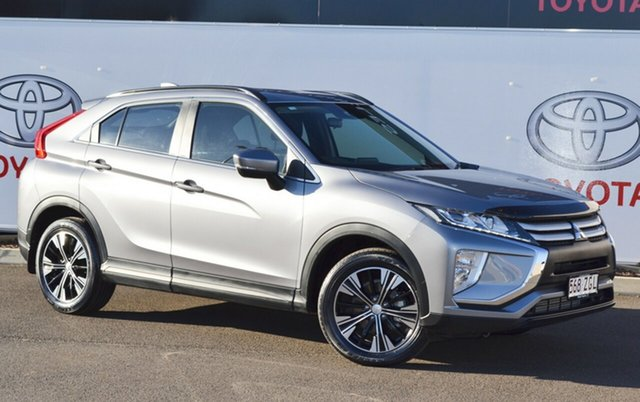 Pre-Owned Mitsubishi Eclipse Cross YA MY18 ES (2WD) Warwick, 2019 Mitsubishi Eclipse Cross YA MY18 ES (2WD) Silver Continuous Variable Wagon