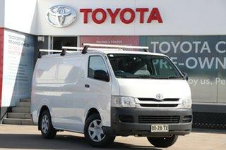2009 Toyota HiAce TRH201R MY10 LWB French Vanilla 4 Speed Automatic Van.