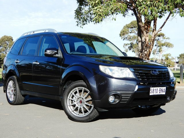 Used Subaru Forester S3 MY11 S-Edition AWD Glenelg, 2011 Subaru Forester S3 MY11 S-Edition AWD Dark Grey 5 Speed Sports Automatic Wagon