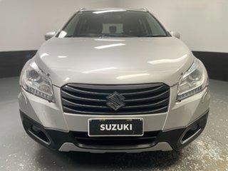 2015 Suzuki S-Cross JY GLX Silky Silver 7 Speed Constant Variable Hatchback.