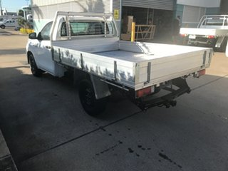 2016 Toyota Hilux GUN122R Workmate 4x2 Glacier 5 speed Manual Cab Chassis