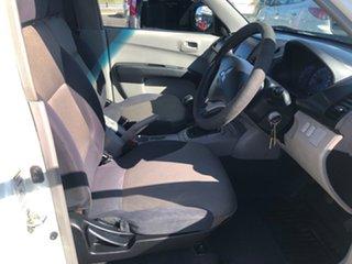 2008 Mitsubishi Triton ML MY08 GLX 4x2 White Solid 5 Speed Manual Cab Chassis