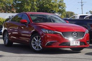 2014 Mazda 6 GJ1021 MY14 Touring SKYACTIV-Drive Red 6 Speed Sports Automatic Sedan.