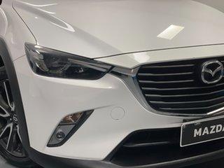 2015 Mazda CX-3 DK2W76 sTouring SKYACTIV-MT Crystal White Pearl 6 Speed Manual Wagon.