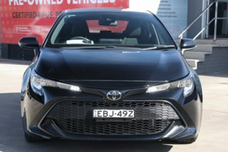 2019 Toyota Corolla Mzea12R Ascent Sport Eclipse Black 10 Speed Constant Variable Hatchback