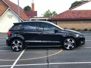 2013 Volkswagen Polo 6R MY14 GTI DSG Black 7 Speed Sports Automatic Dual Clutch Hatchback.