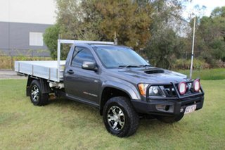 2010 Holden Colorado RC MY10 LX Grey 5 Speed Manual Cab Chassis.
