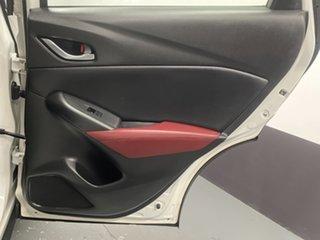2015 Mazda CX-3 DK2W76 sTouring SKYACTIV-MT Crystal White Pearl 6 Speed Manual Wagon