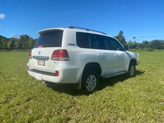 2010 Toyota Landcruiser VDJ200R 09 Upgrade GXL (4x4) Crystal Pearl 6 Speed Automatic Wagon.