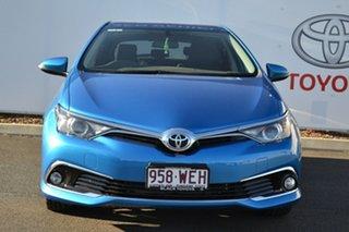 2015 Toyota Corolla ZRE182R MY15 Ascent Sport Blue Gem 7 Speed CVT Auto Sequential Hatchback.
