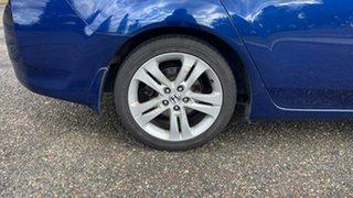 2009 Honda Accord Euro CU Luxury Blue 5 Speed Automatic Sedan