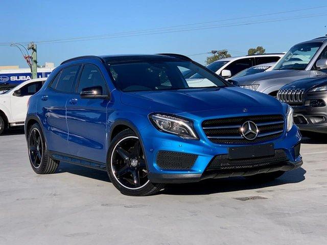 Used Mercedes-Benz GLA-Class X156 806MY GLA250 DCT 4MATIC Liverpool, 2015 Mercedes-Benz GLA-Class X156 806MY GLA250 DCT 4MATIC Blue 7 Speed Sports Automatic Dual Clutch