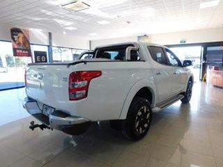 2018 Mitsubishi Triton MQ MY18 Exceed Double Cab White 5 Speed Sports Automatic Utility