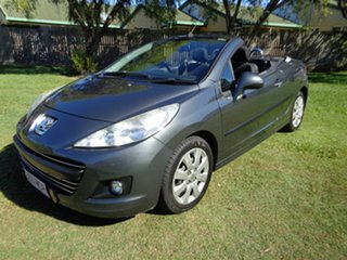 2009 Peugeot 207 A7 CC Grey 4 Speed Sports Automatic Cabriolet