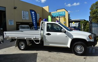 2008 Holden Colorado RC MY09 DX (4x2) White 5 Speed Manual Cab Chassis