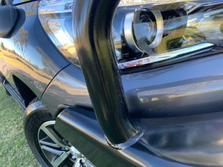 2020 Toyota Hilux GUN126R SR5 Double Cab Graphite Grey 6 Speed Sports Automatic Utility.