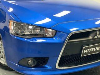2014 Mitsubishi Lancer CJ MY15 LS Blue 5 Speed Manual Sedan.
