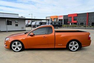 2011 Ford Falcon FG XR6 Ute Super Cab Limited Orange 6 Speed Automatic Utility