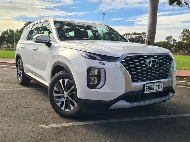 Demo Hyundai Palisade LX2.V1 MY21 2WD Nailsworth, 2021 Hyundai Palisade LX2.V1 MY21 2WD White Cream 8 Speed Sports Automatic Wagon