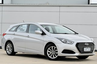 2016 Hyundai i40 VF4 Series II Active Tourer D-CT Silver 7 Speed Sports Automatic Dual Clutch Wagon.