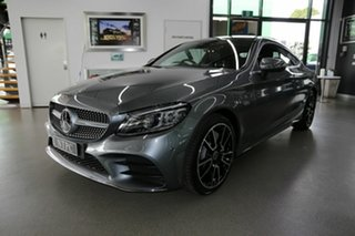 2018 Mercedes-Benz C-Class C205 809MY C300 9G-Tronic Grey 9 Speed Sports Automatic Coupe