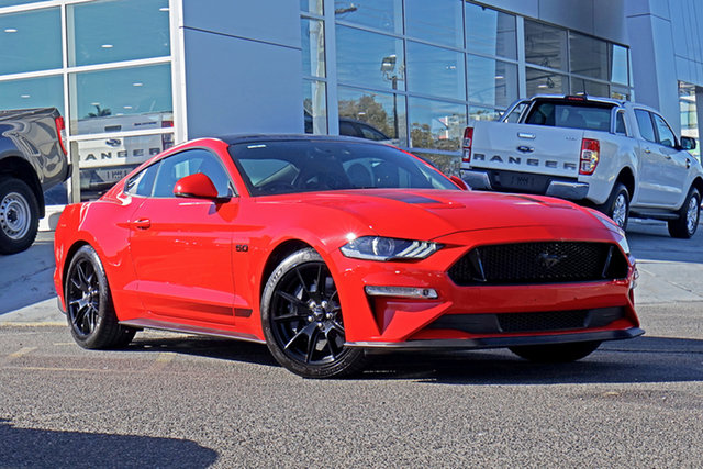 Used Ford Mustang FN 2019MY GT Springwood, 2019 Ford Mustang FN 2019MY GT Race Red 10 Speed Sports Automatic Fastback