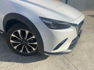 2020 Mazda CX-3 DK2W7A sTouring SKYACTIV-Drive FWD Snowflake White 6 Speed Sports Automatic Wagon.